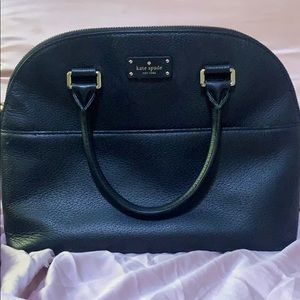 Small Black Kate Spade Bag With Removable Strap